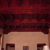 Hand carved beams and corbels. Built by Charlie Mallory.